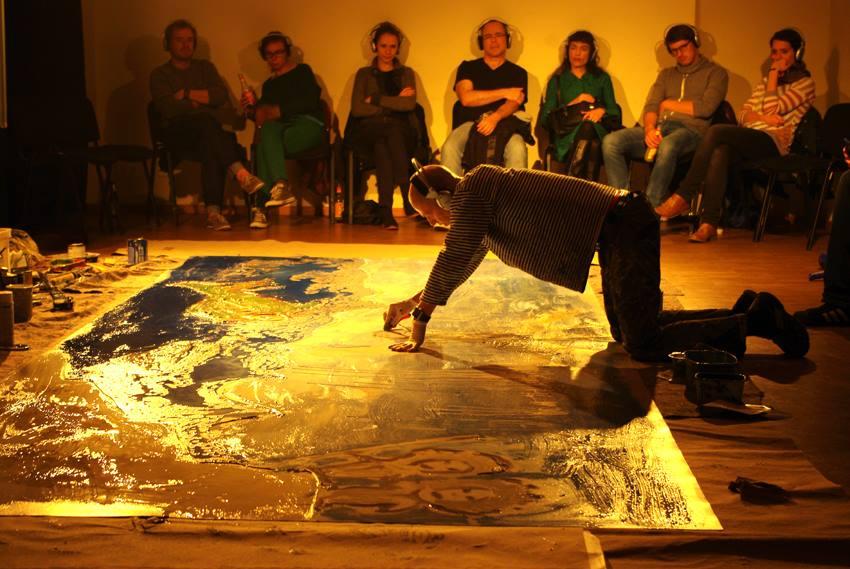 Performance Das hier ist Wasser