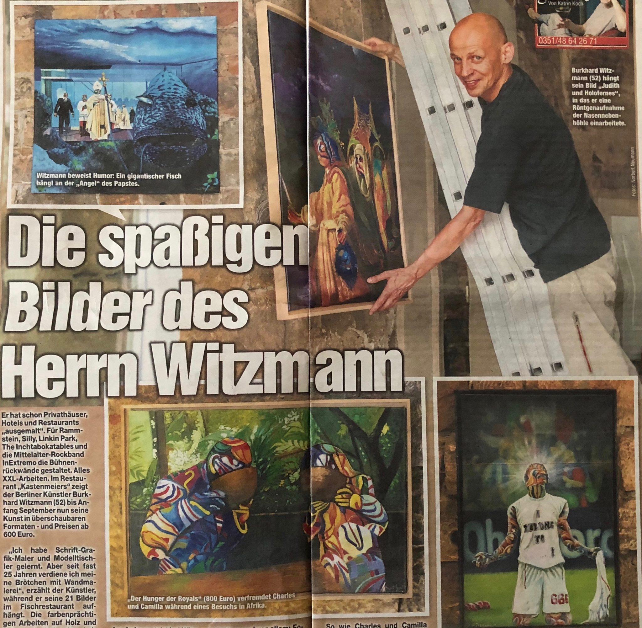 Ausstellung in Dresden