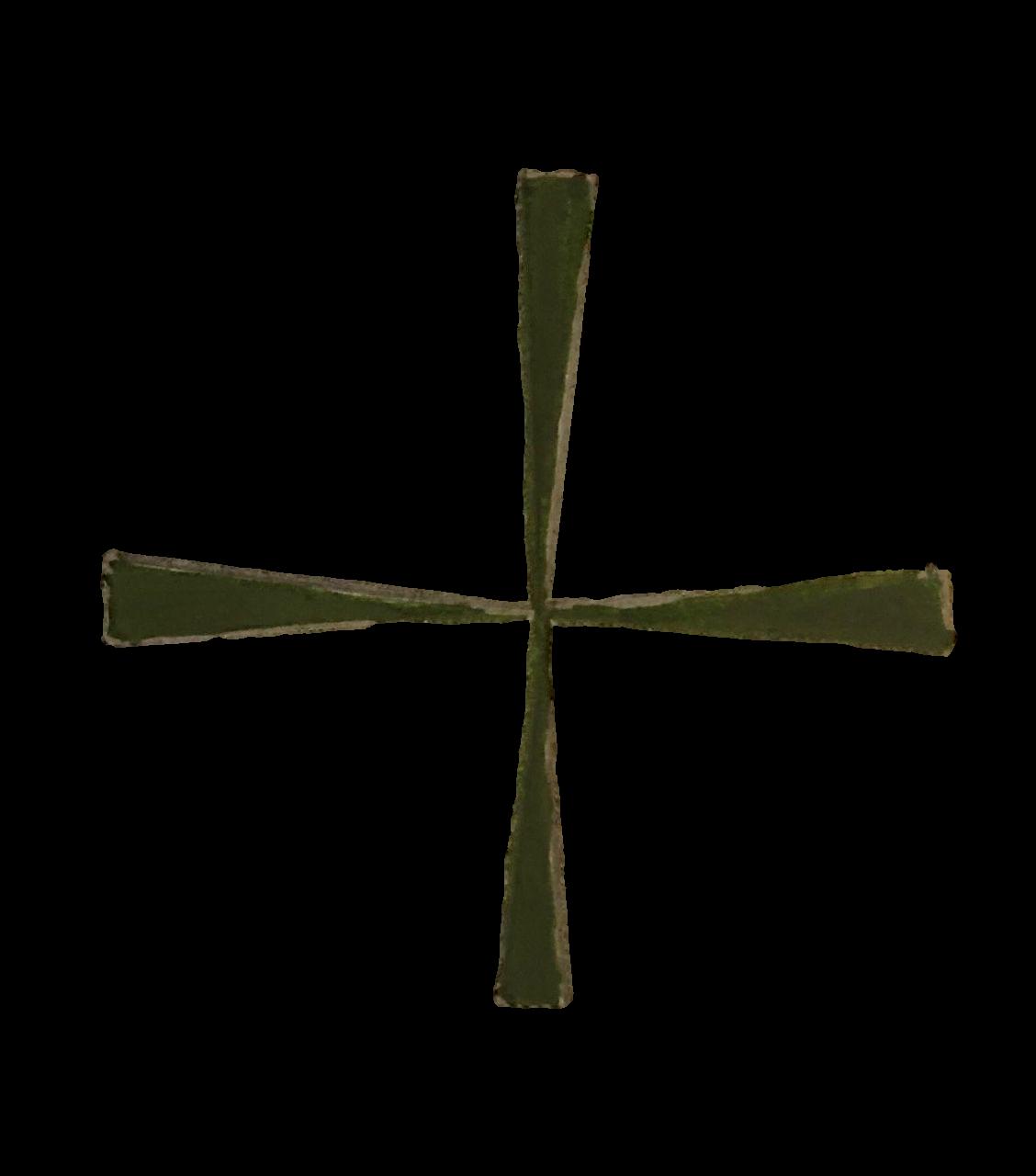 Lazaruskreuz fein by Burkhard Witzmann