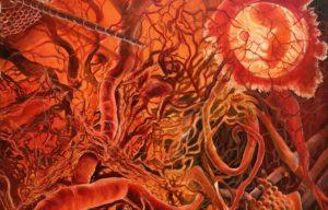 Ausstellung biologische Strukturen